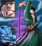 Zoro vs Kaido - One Sword Style