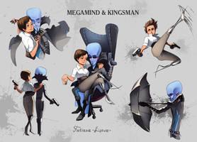 Megamind-Kingsman