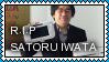 R.I.P. Satoru Iwata [1959-2015] by SirSuetic
