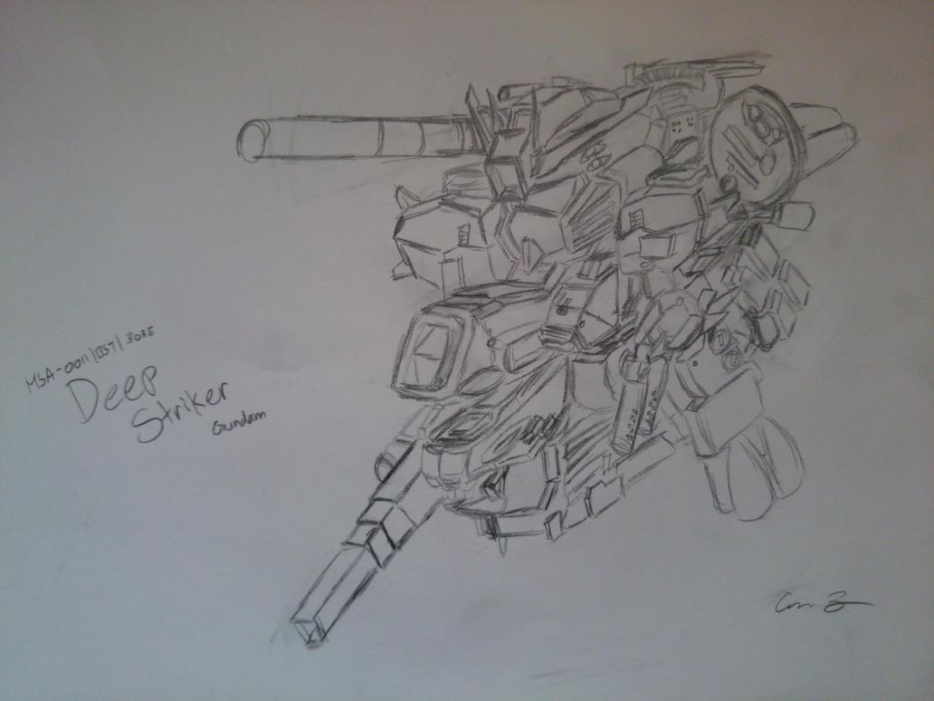 SD Deep Striker S Gundam by Ayphverus