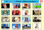 Characters I Like