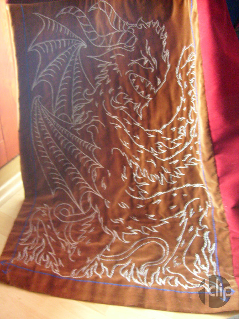 Hand embroidered velvet curtains by idclipdesign on