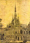 Benidictine Palais, Fecamp by Scribe1969