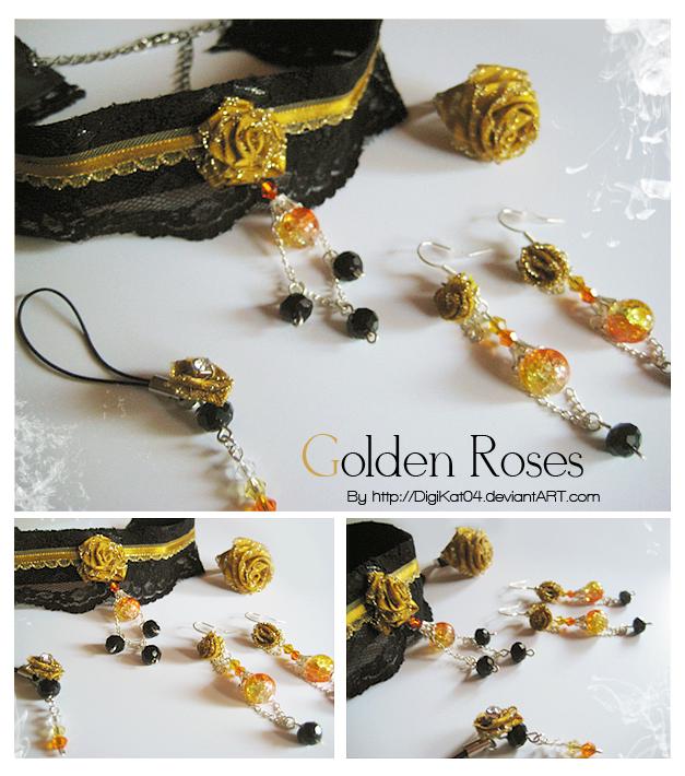 ++ Golden Roses ++ by DigiKat04
