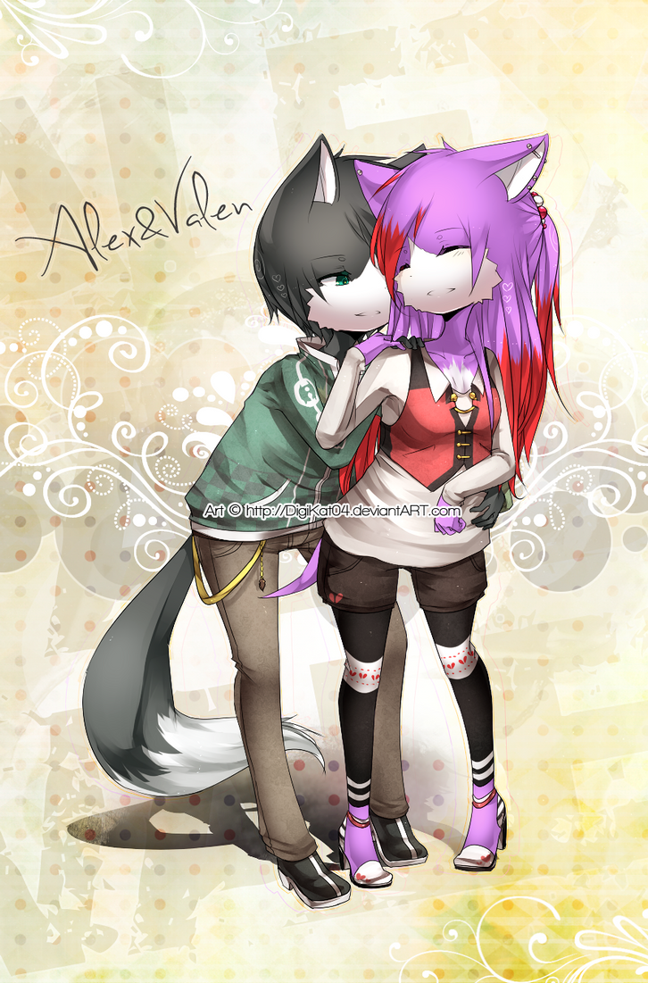 9 = .Alex and Valen. = 9 by DigiKat04