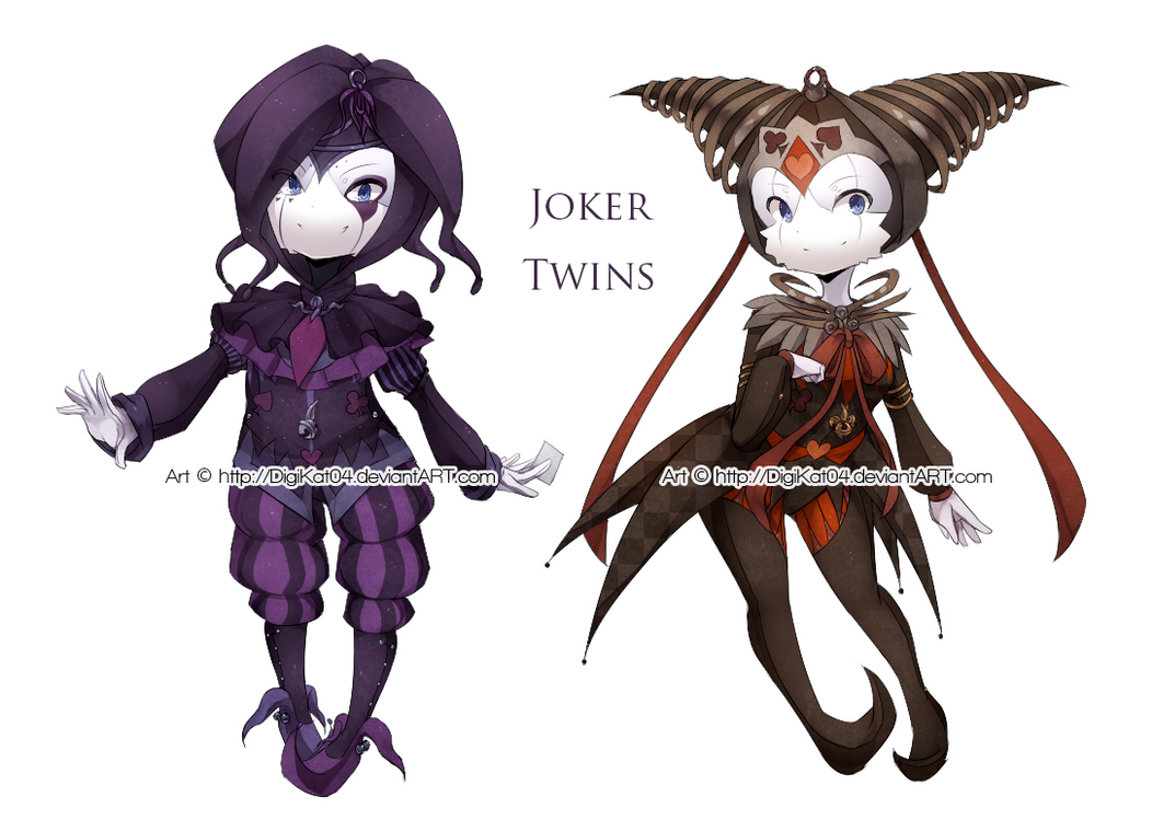 x.x.x Joker Twins x.x.x by DigiKat04