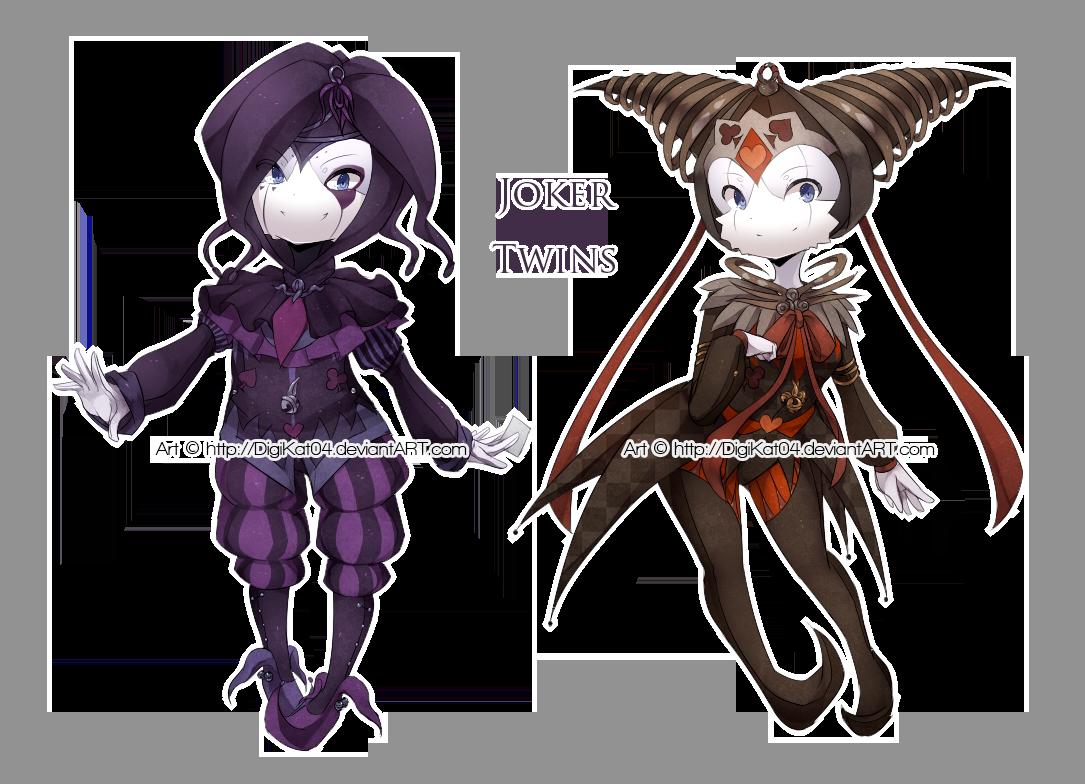x.x.x Joker Twins x.x.x by DigiKat04