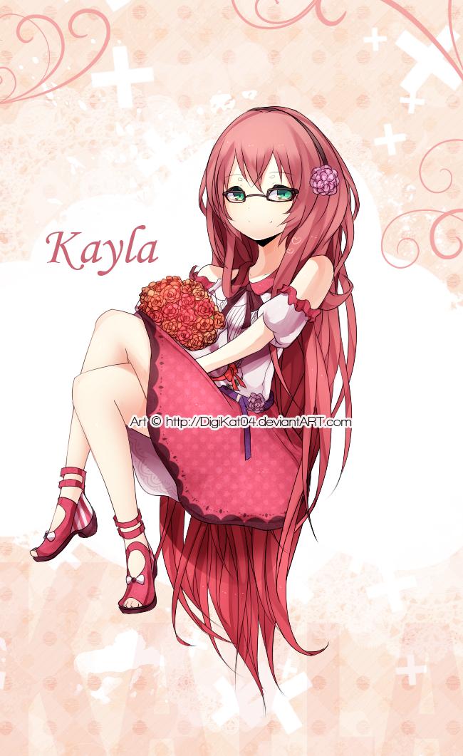 ..v Kayla ..V by DigiKat04