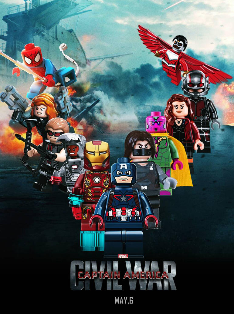 marvel lego 2016 civil war