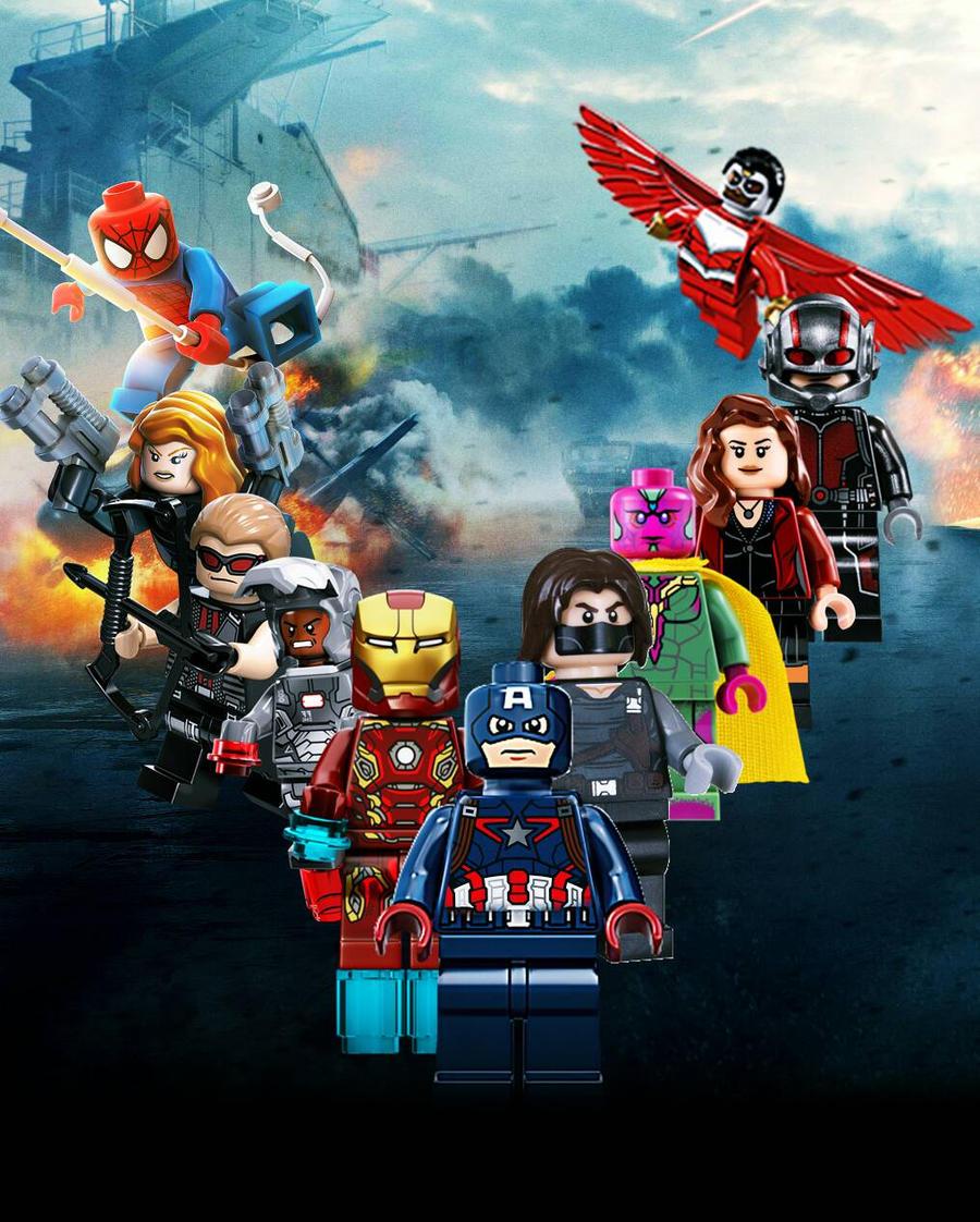 Lego marvel captain america civil war textless by batcrazyman on lego marvel captain america civil war textless by batcrazyman voltagebd Gallery