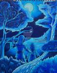 Moonlight in blue - Kalum
