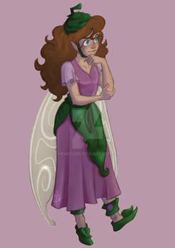 Thinking fairy - Disney Fairies