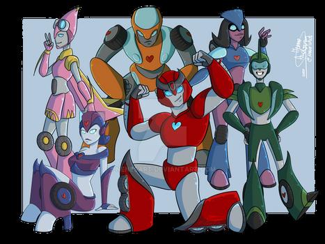 Team Autobot - OCs