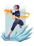 Todoroki - Boku no Hero Academia fanart