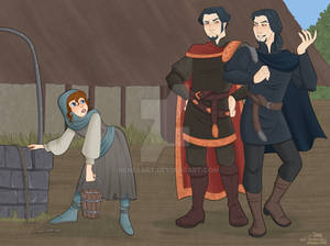 The well - Medieval AU