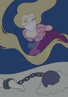 Rapunzel - comic commission