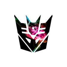 Colour Smoke Decepticon Symbol by Cleafesphere