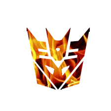 Flame Decepticon Symbol by Cleafesphere