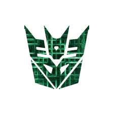 Cyber Decepticon Symbol by Cleafesphere