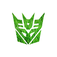 Grass Decepticon Symbol by Cleafesphere