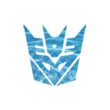 Water Decepticon Symbol by Cleafesphere