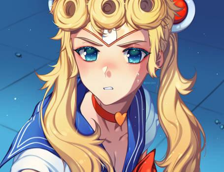 Sailor Moon Redraw: Giorno Giovanna