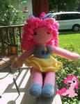 pinkie pie inspired doll