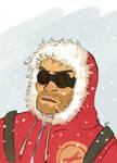 snowy engie by camiluna27