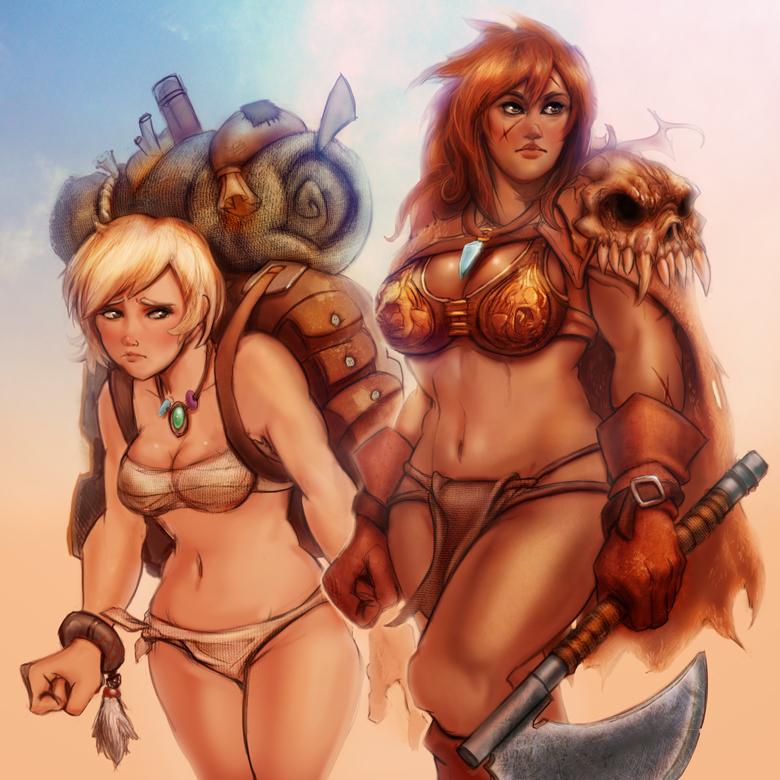 Giant axe Warrior team by GeniusFetus on DeviantArt