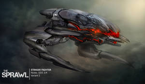 Enemy fighter concept