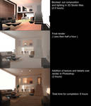 3D to 2D Environment process by GeniusFetus