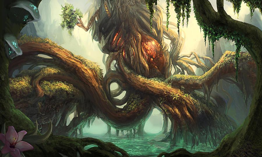biomech swamp by GeniusFetus
