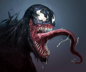 Venom Smile by GeniusFetus