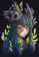 Coral Girl by GeniusFetus