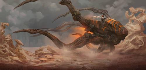 Dune Rider by GeniusFetus