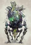 Bloodborne Inspired creature
