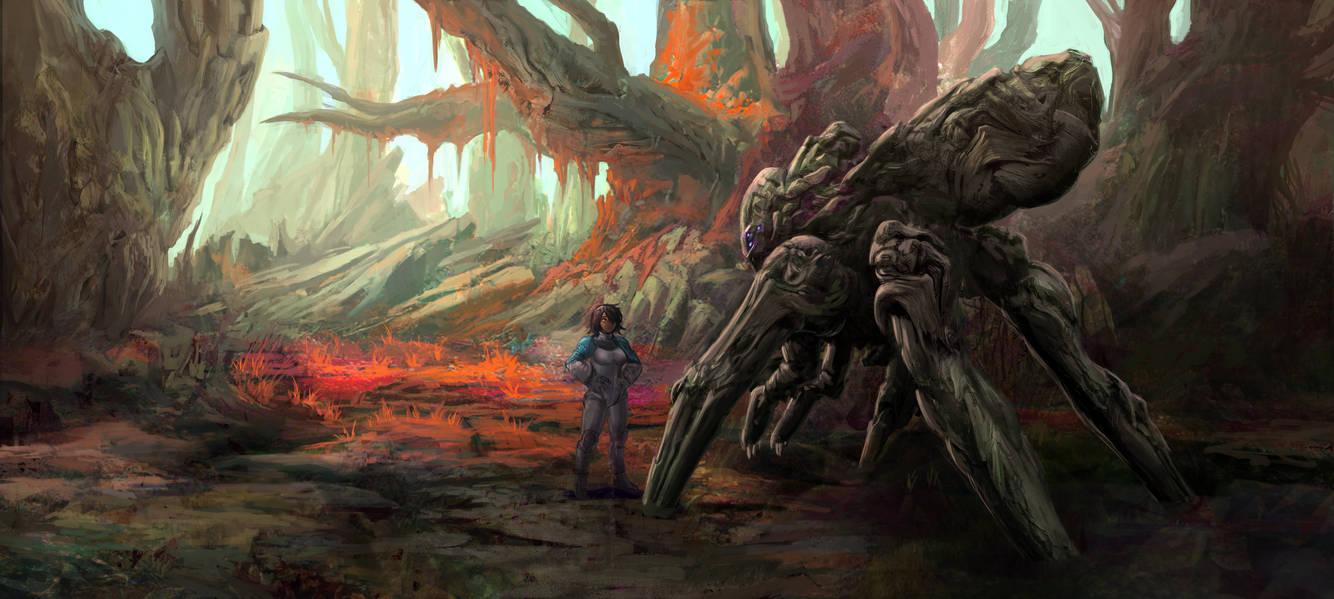 Biowalker by GeniusFetus