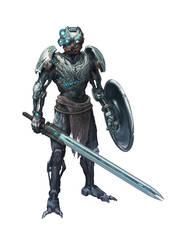 Kopaka Ice Warrior by GeniusFetus