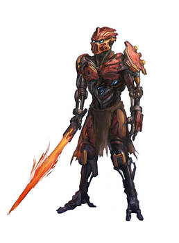 Tahu Fire Warrior