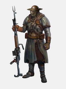Wire Gun Trooper