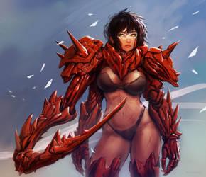 Bio Armor Girl