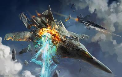 Mid-air Disintegration