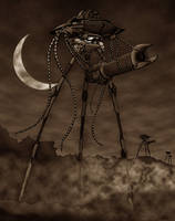 WOTW:The Martian Line,Sepia by LancerAdvanced
