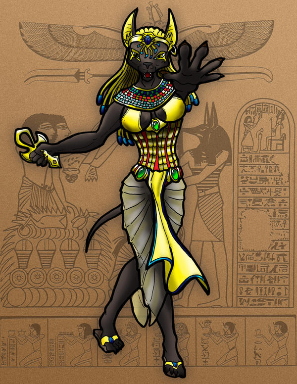 Egyptian Were-Color by LancerAdvanced