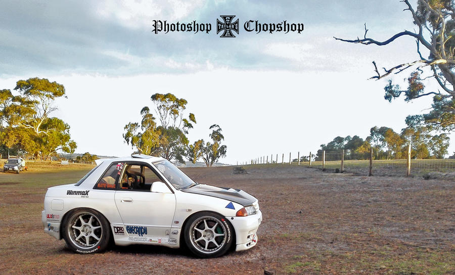 R32 GTST RB25 Neo - Nathan Dale Racing by TaylorsArtwork on