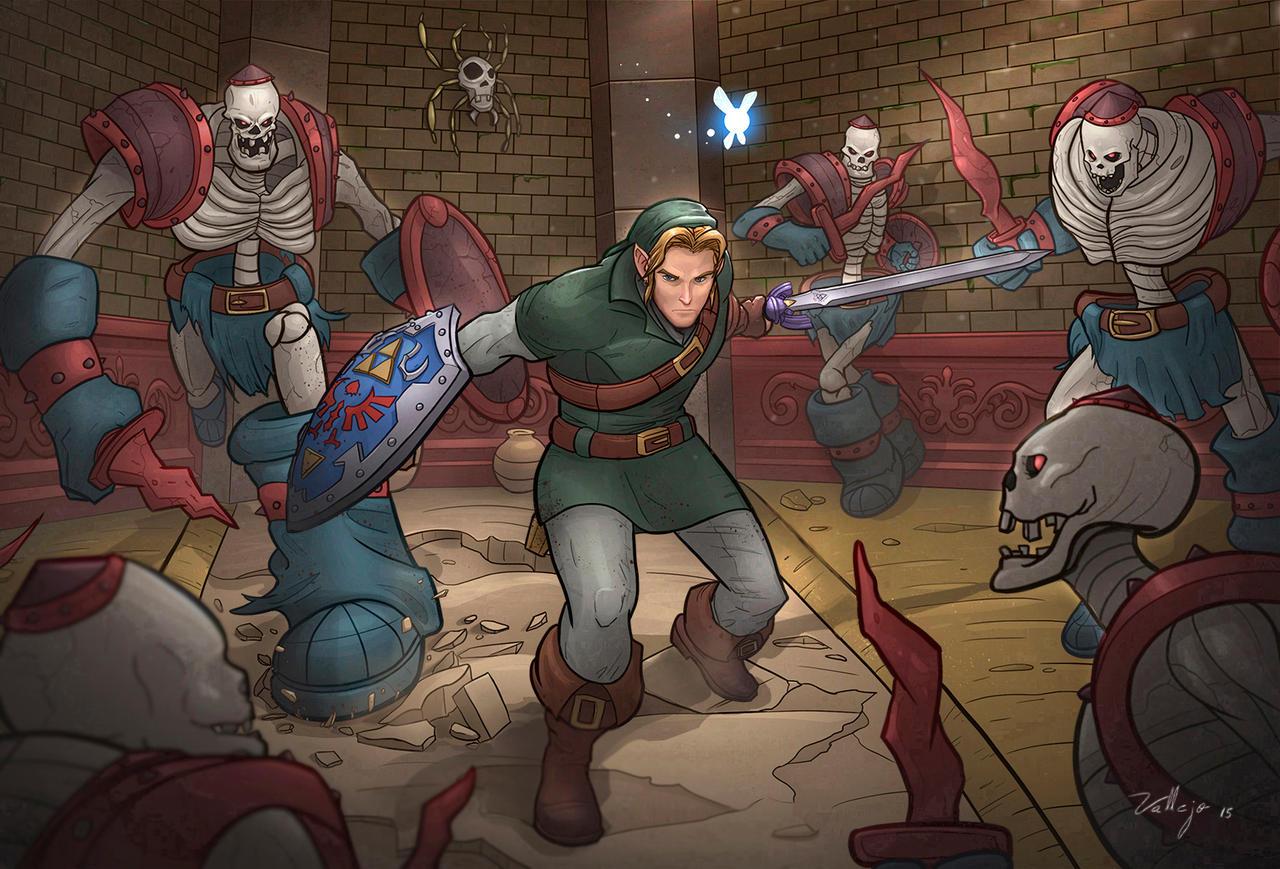 The Legend of Zelda: Ocarina of time by Migska