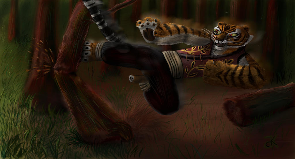 Tigress Training by bk-kam