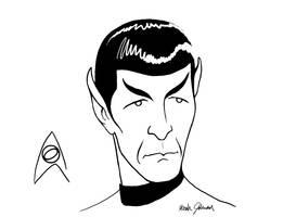 Spock by bronze-dragonrider