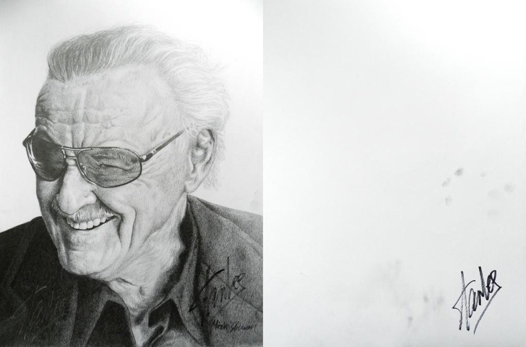 Stan Lee Signed by bronze-dragonrider