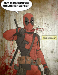 Deadpool by bronze-dragonrider